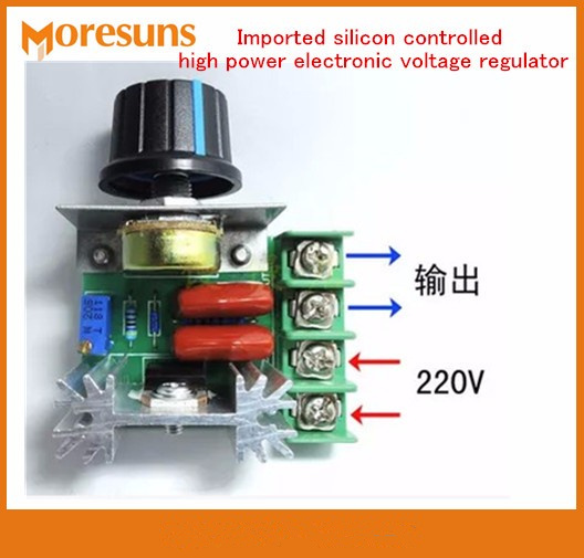 5PCS 2000W Imported Silicon Controlled High Power Electronic Voltage Regulator,dimmer,speed Regulation,high Temperature Module