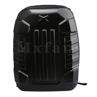Mxfans 50x40x20cm Hard Shell Backpack Transport Carrying Case Storage Box for Parrot Bebop 2 FPV Drone