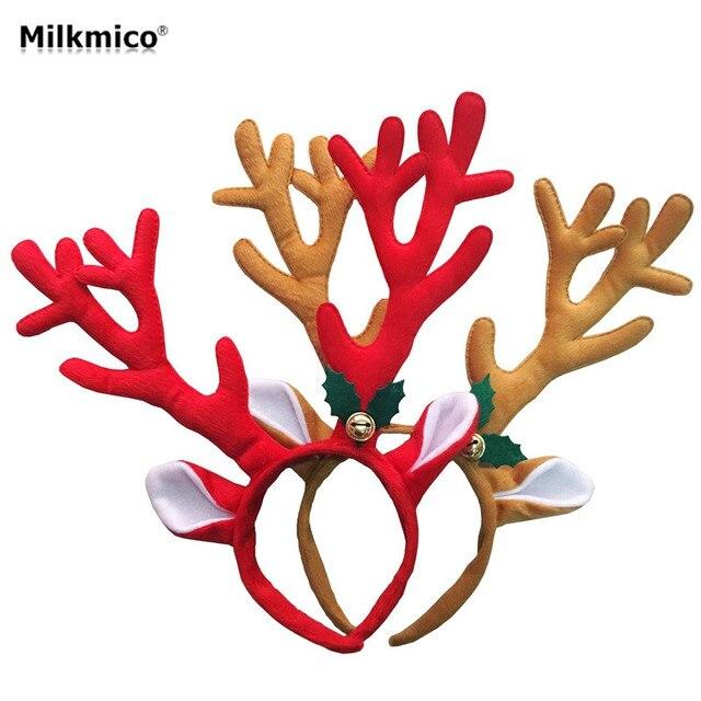 34 cm Weihnachtsschmuck Geweih Stirnband Weihnachtsfeier ...