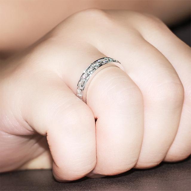 14K White Gold 1.5CT Lab Grown Diamond Wedding Engagement Ring