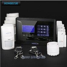 HOMSECUR Wireless GSM SMS Pet Friendly Home Burglar Security Alarm System Humanized Menu