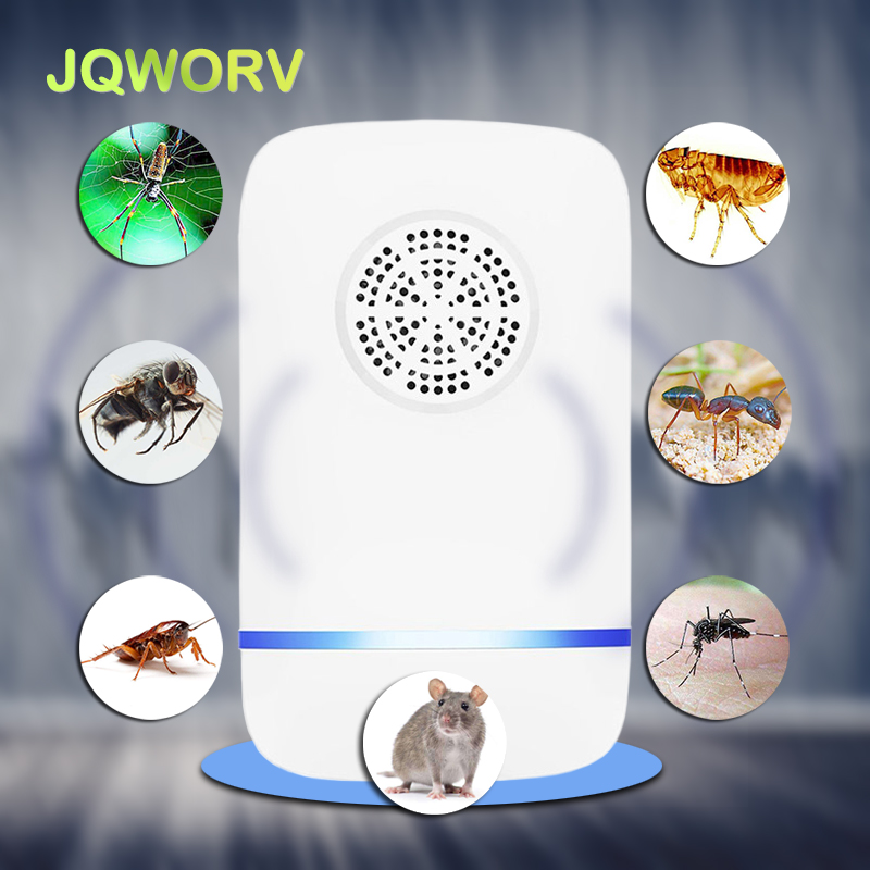 Indoor Electronic Ultrasonic Pest Control Anti Mosquito Insect Repeller Rat Mouse Cockroach Reject Repellent Eu/Us/Uk/Au Plug