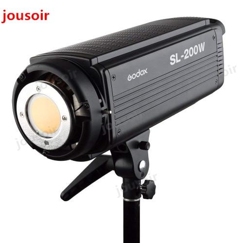 Godox SL-200W 200Ws 5600 k Studio LED Continuo Foto Video Luce Della Lampada w Telecomando CD50