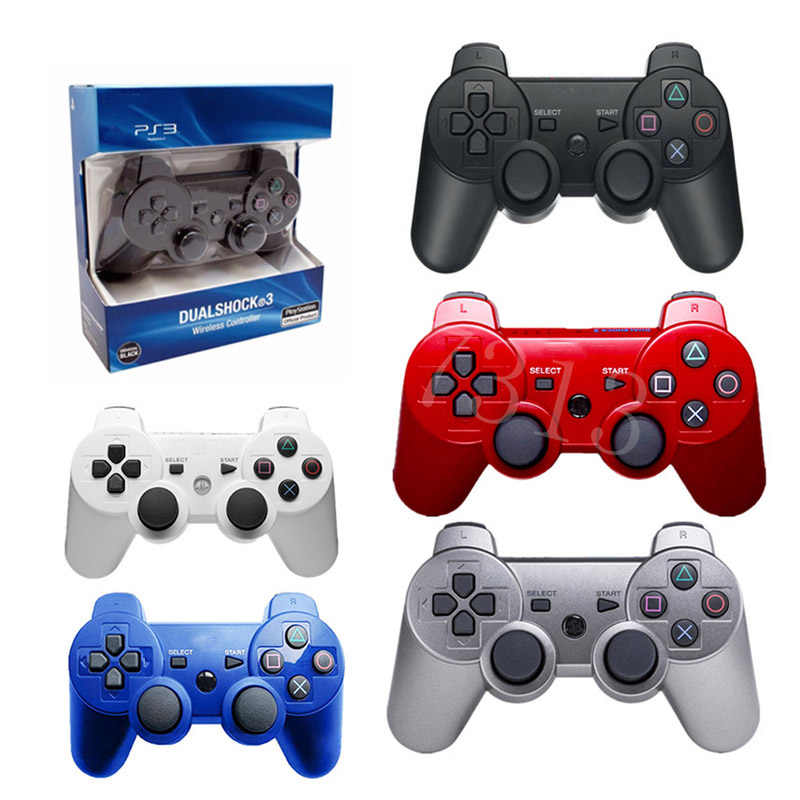 PS3 controlador de juegos Bluetooth inalámbrico 2,4 GHz para Sony Playstation 3 PS3 controlador Joypad remoto Gamepad
