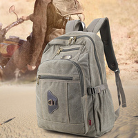 Multifuncional sacos de desporto da motocicleta do vintage mochila lona saco caminhadas ao ar livre mochilas viagem aventura tático mochila