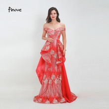 Finove Prom Dress 2019 Long Chic Dress Vestido de fiesta