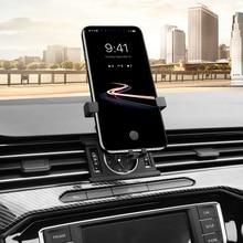 Auto di Gravità Supporto Del Telefono Mobile Dell'automobile Del Telefono Del Supporto Del Basamento Presa Staffa Per Volkswagen Passat B8/Arteon 2018-2019
