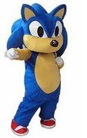 cosplay costumes New Professional Sonic Hedgehog Mascot Costume Fancy Dress Adult Size