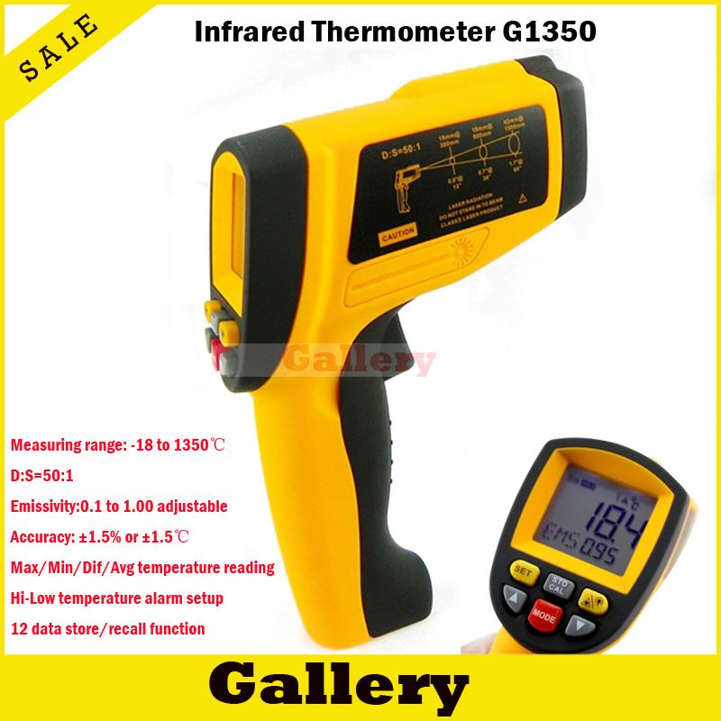 2015 thermal camera digital non-contact infrared ir thermometer portable gun tester 1350 degree genuine wholesale Industrial vintage solid color rhinestone ring for women