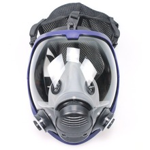 Chemical mask 6800 7suits 6001 Gas Mask acid dust Respirator Paint Pesticide Spray Silicone filter Laboratory cartridge welding