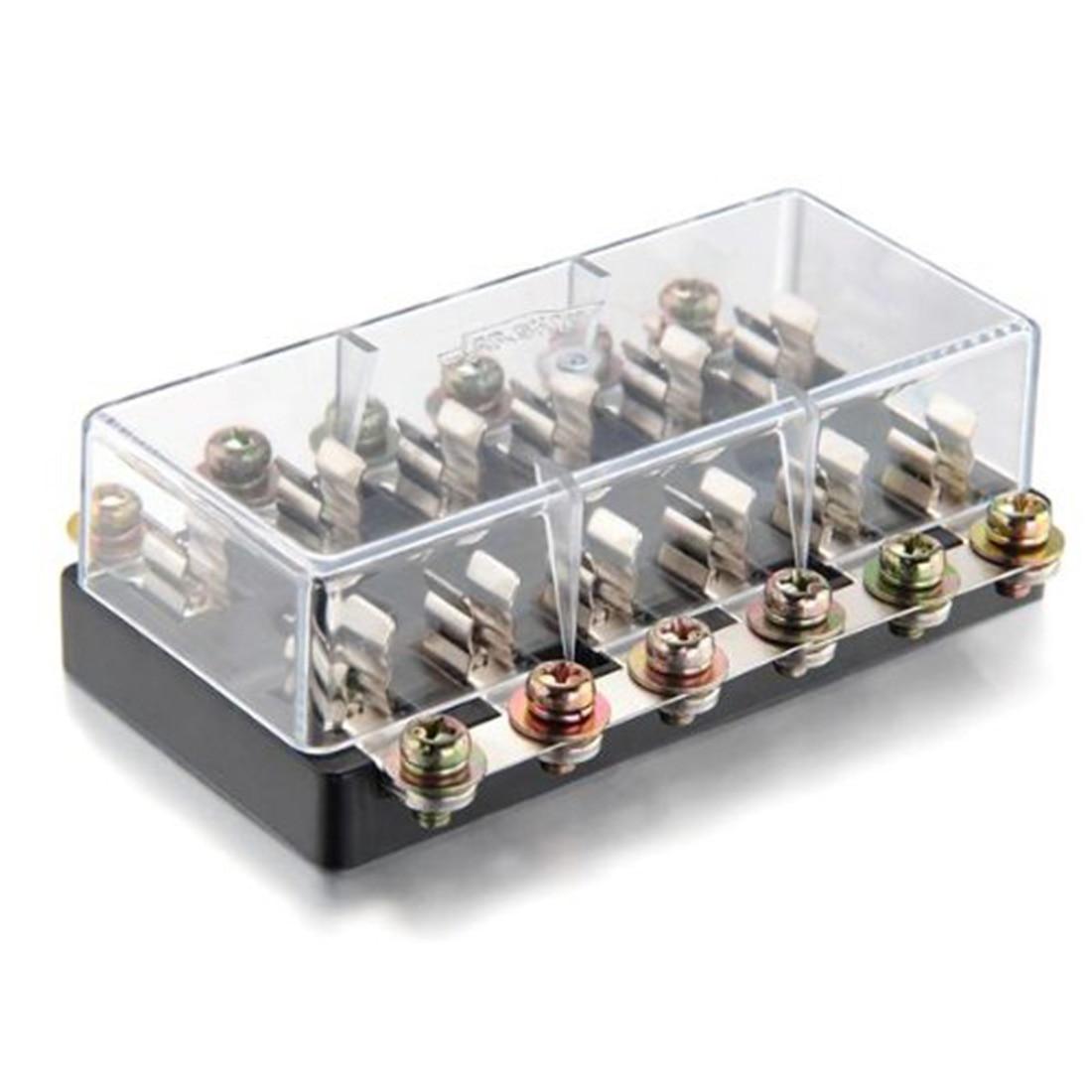 small resolution of dewtreetali new universal 12v 6 way fusebox fuse blade fuse box fuseholder kit car boat