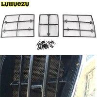 2010 2011 2012 2013 auto Insektennetze Metallgitterkorb Einsatz Net Für Toyota Land Cruiser Prado 150 FJ150 Zubehör