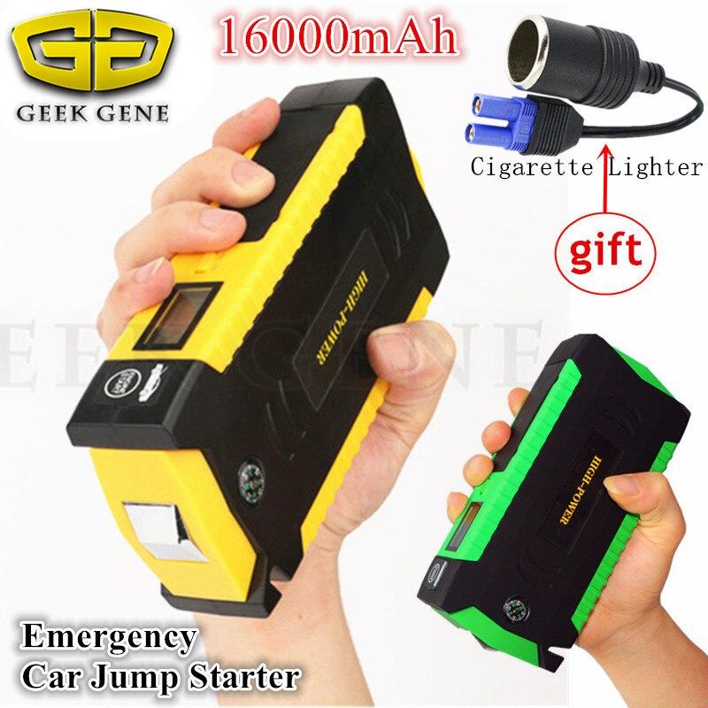 Mini font b Car b font Jump Starer 600A Portable Lighter Starting Device Power Bank 12V