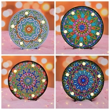 Datura flowers Led Diamond Painting New Arrival Cartoon Embroidery For Children Sale Mosaic Gift