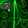 Stage Lighting Effect Remote 50mw Green Beam Laser Projector Professional  DMX 512 Scanner DJ Disco Party Show Beam Lights