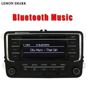 Image 2 - سيارة راديو ومشغل أقراص ستيريو RCN210 RCD320 MP3 SD بطاقة AUX Canbus بلوتوث لشركة فولكس فاجن باسات B6 CC B7 جولف 5 6 جيتا MK5 MK6 تيجوان