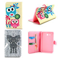 YH Sweet OWI Cute PU Leather Stand Case for Samsung Galaxy Tab 3 Lite 7.0 T110,With Card Holder Case for Tab3 Lite 7.0 T110 T111