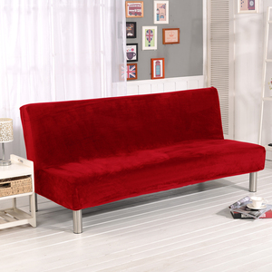 Image 5 - קטיפה בד פי גידמת ספה מיטת כיסוי מתקפל מושב ריפוד עבה מכסה ספסל ספה מגן אלסטי פוטון כיסוי חורף