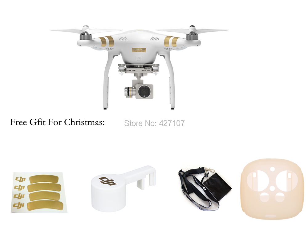 100% Original DJI Phantom 3 Professional/Advanced With 3-Axis Gimbal Camera Free Shipping