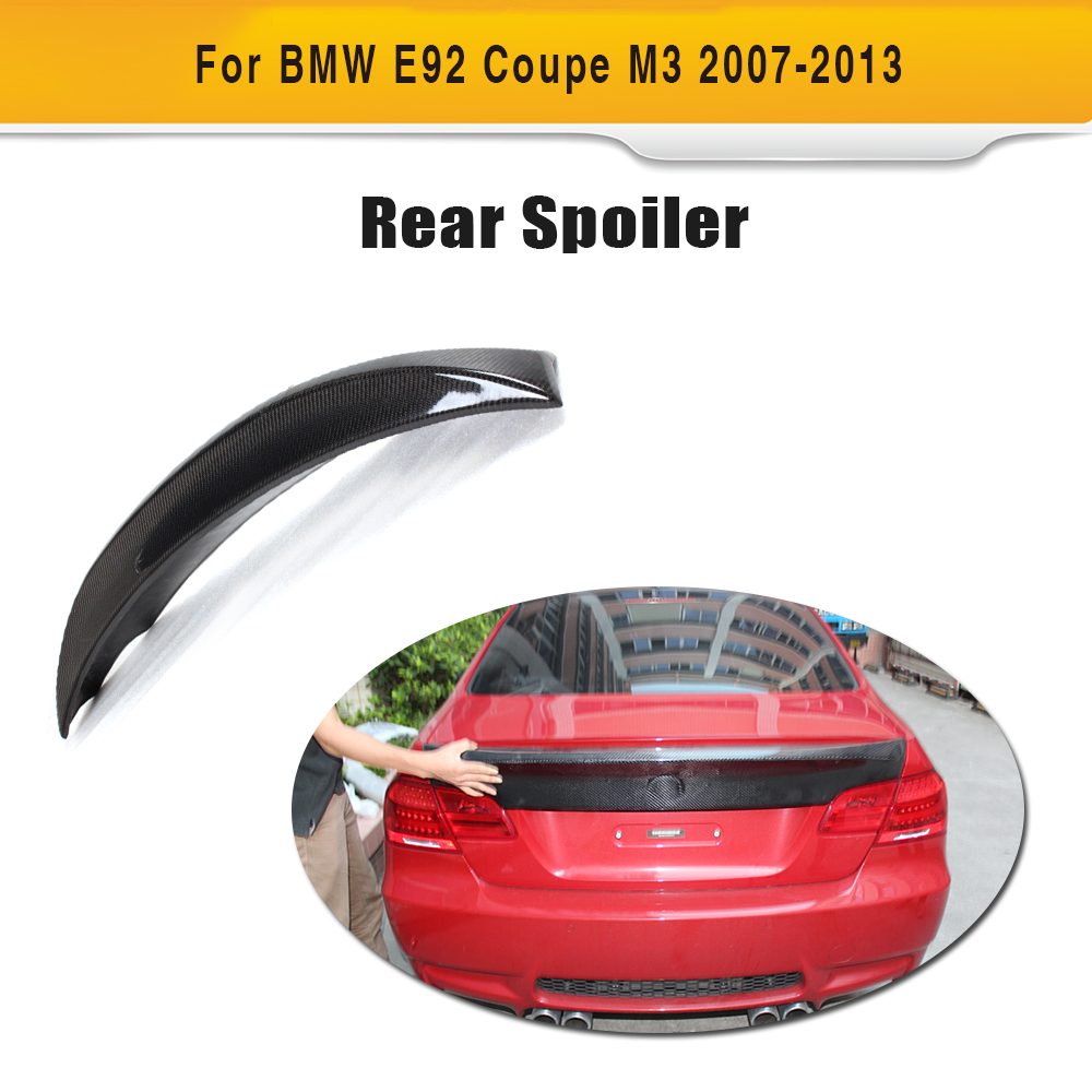 07-13 E92 Coupe 328i 335i M3 CSL Style Auto Car Rear Wings ,Trunk Boot Lips For BMW (Fit 2007-2013 M3)