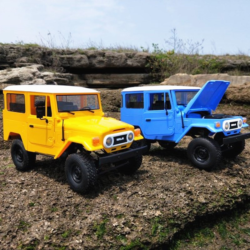 WPL RC Cars C34 2.4G Control RC Cars Toys Buggy Trucks Off-Road Trucks Toys for Children RTR KITWPL RC Cars C34 2.4G Control RC Cars Toys Buggy Trucks Off-Road Trucks Toys for Children RTR KIT
