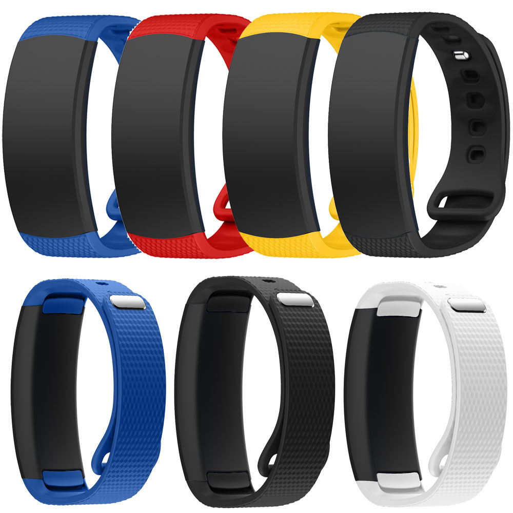 Superior Quality Luxury Silicone Watch Replacement Band Strap For Samsung Gear Fit 2 SM-R360 J28