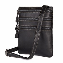 JMD High Quality Cow Leather Mens Bag Three Layer Multi Pockets Shoulder Bags Classic Messenger For Young 1034A/1034Q