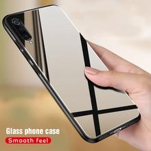 Solid Glass Case For Xiaomi Redmi 7 7A Note 7 6 5 Pro K20 Mi9se Mi 9T Mi8 SE Lit