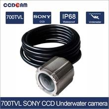 CCDCAM SONY CCD 700TVL Camera underwater Swimming Pool camera depth max 100m