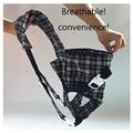Mochila Porta bebé sling Sling Infantil Mochila Bolsa Transpirable Multifuncional Frontal Frente Wrap Carriage con poliéster