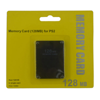10pcs a lot 128MB Memory Card for PS2 for Playstation 2