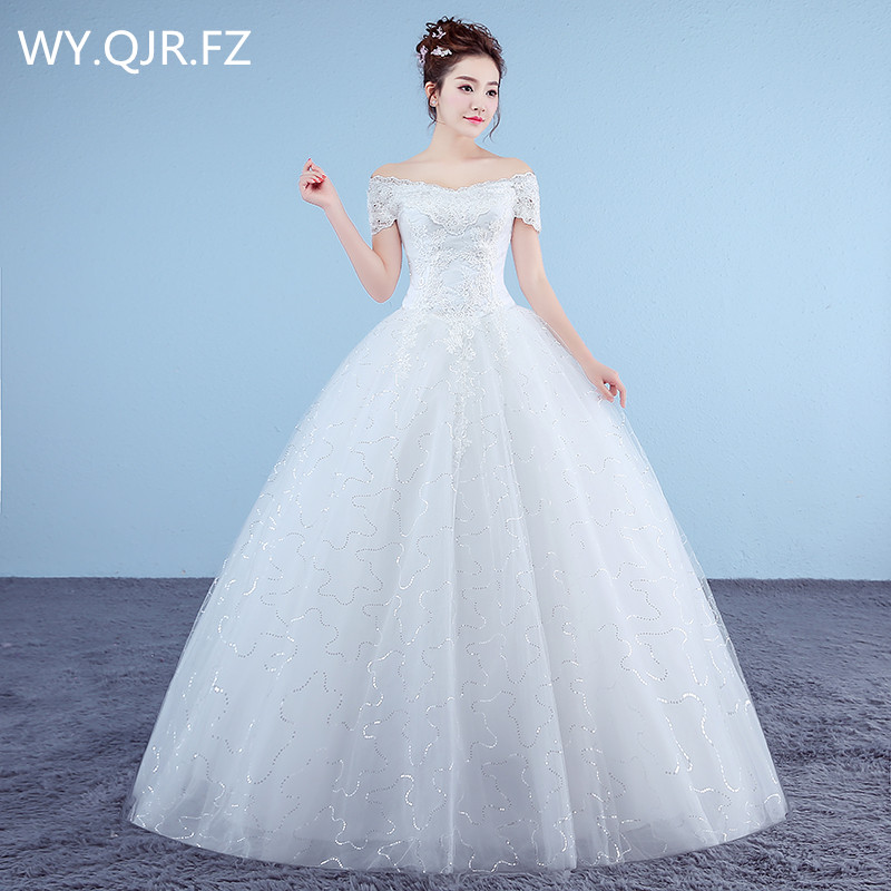 Red And White Lace Wedding Dress: XXN054B#Ball Gown Lace Up Long Red And White Organza Bride