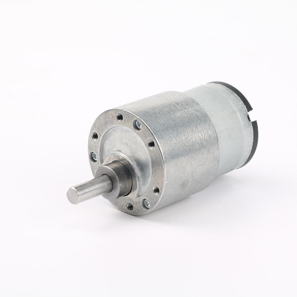 37GB520 DC 12V 3.5RPM/7RPM/30RPM/70RPM/100RPM/300RPM Metal Gear Motors Large Torque Reduction Motor цена