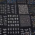 30 hojas multi color nail art stickers decals manicura accesorios de diseño floral 1uif