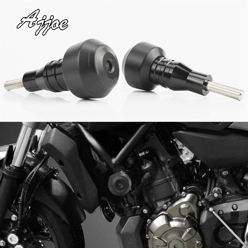 Motorcycle CNC Aluminum Frame Slider Anti Crash Caps Engine Protection Fairing Guard For MT-07 2013-2016 Easy