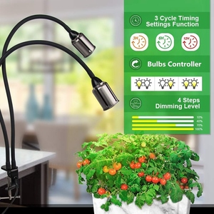 Image 3 - Grow Lights For Indoor Plants Full Spectrum with Timer 75W Sunlike Plant Light with 3/6/12/24H Timer 5 Dimming Led Sunlight Gr