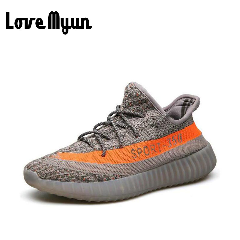 Fashion Brand Men Casual Shoes 2017 spring New Design light weight Breathable Mesh trainers shoes Men