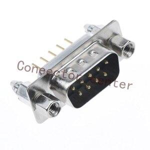 Высокое качество D-SUB дБ DP разъем 9PIN 2-рядный мужской золотой посаженный 1U DSUB RS232