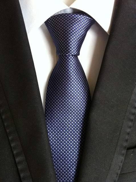 Details about  /Wedding Men/'s Striped Polka Dot Classic Silk Tie Jacquard Woven Business Necktie