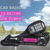 Ogólne Baojie BJ-271A 50 W Transceiver Radiowy UHF Czterozakresowy Samochodów Stacji Radiowej Walkie talkie własny jazdy na zewnątrz turystyka
