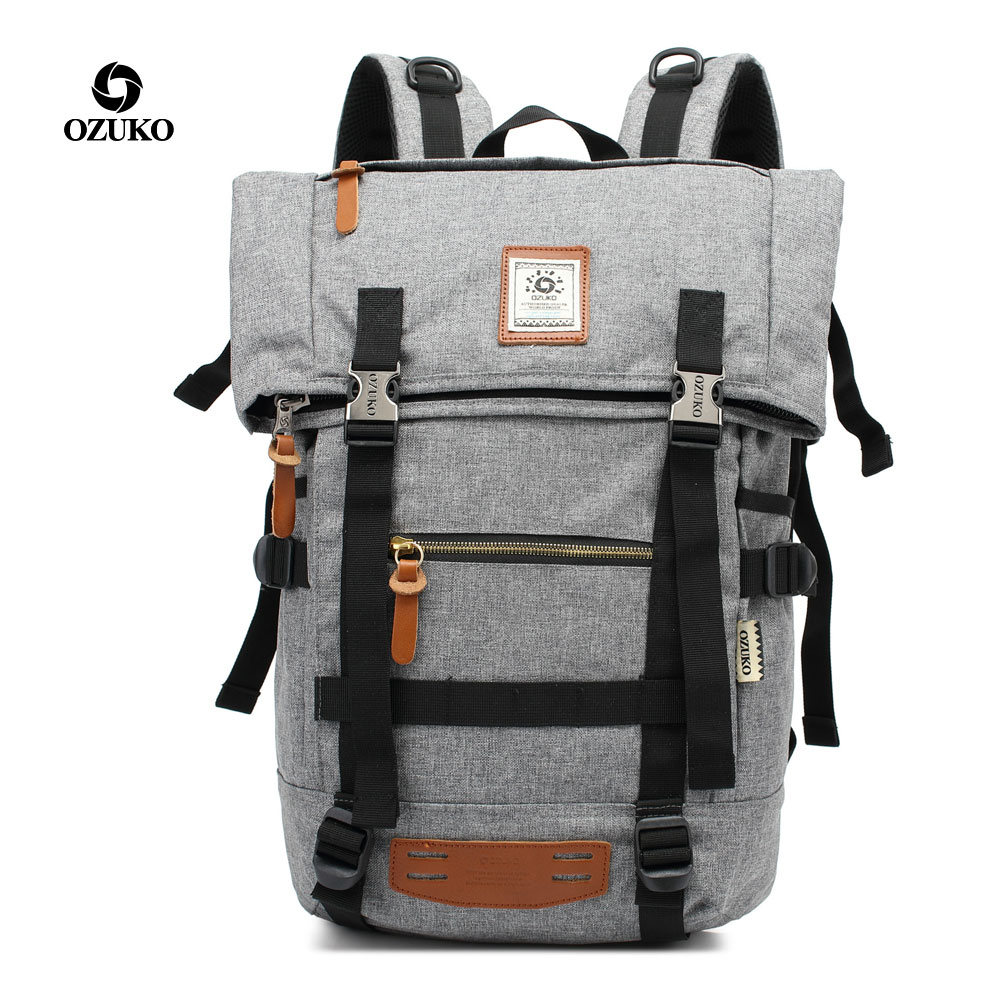 Men Backpack Outdoor Large capacity Travel Multifunction Backpack Men's Bags