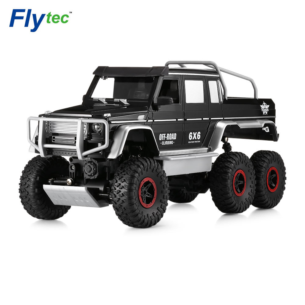 Flytec 699 - 119 1 / 10 Full Function Simulation 6-wheel Off-road Climber RC Car Gift for Kids