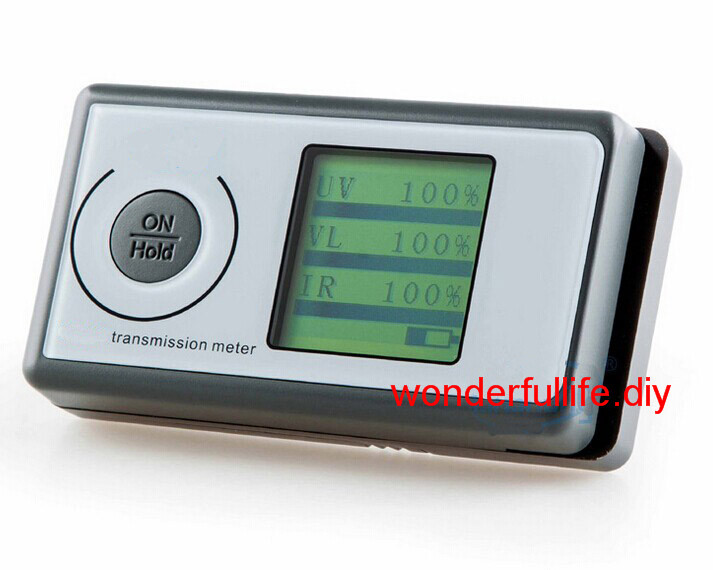 3 in 1 IR/UV/VL Solar Film Transmission Meter Tester Light Transmittance Meter ls160 solar film tester portable solar film transmission meter measure uv visible and infrared transmission values