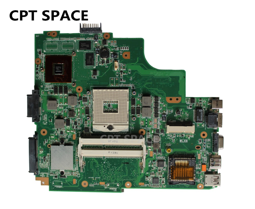 YTAI Original new for ASUS K43SV K43S K43SJ A43S A84S X43S K43SM laptop motherboard REV:3.0 USB2.0 GT520M mainboard