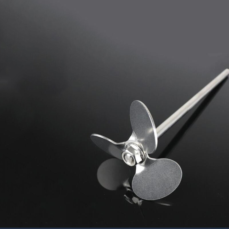 1pcs lab stainless steel DIA40mm to 120mm three blade propeller, three-leaf paddle for lab stirrer mixer blender machine