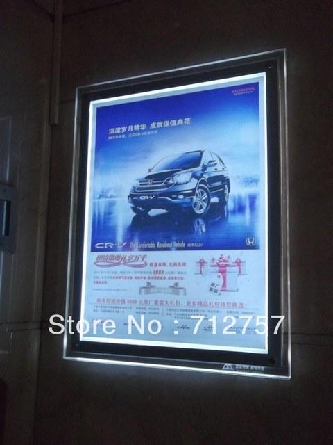 High Quality Acrylic Led Sign Board Light Box Free