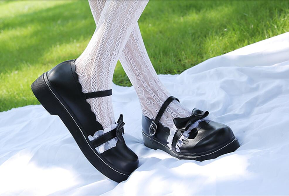 3 cores pesado-fundo redondo cabeça sapatos femininos
