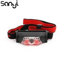Waterproof Headlight High-Power-Head SANYI Outdoor Portable Mini 1--Xpe 2--Led