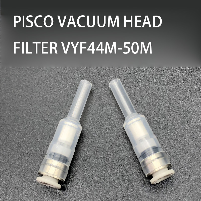 NOVFIX 10PCS PISCO VACUUM HEAD FILTER VYF44M-50M For Samsung SMT Pick And Place Machine SM471/SM481/SM482