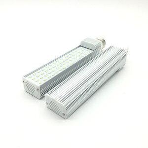 Image 2 - Светодиодный светильник G24, 7 Вт, 9 Вт, 11 Вт, 13 Вт, 15 Вт, 18 Вт, E27, SMD 2835, точечный светильник с углом обзора 180 градусов, горизонтальный штекер, светильник